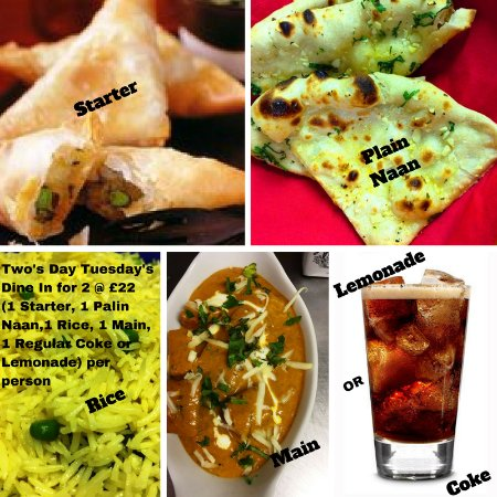 Фелтем, UK: Dine in for 2 @ £22.00 or Get 2 Free Plain naans on Takeaway orders over £20.00