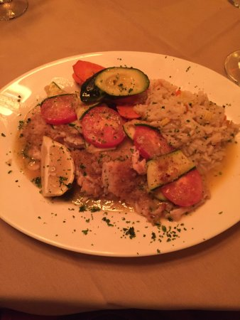 Newton, NJ: Filet of Sole - fabulous! Melts in your mouth.