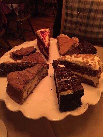 Newton, NJ: Desert Tray - eat in or take away.