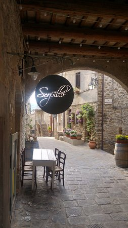 "Bevagna, Italy: the restaurant ""Serpillo"""