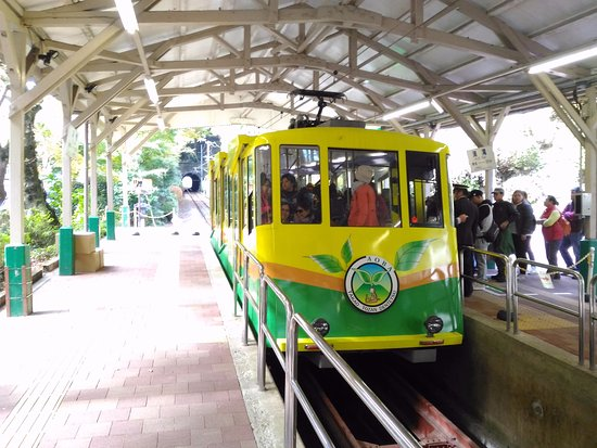 Mt. Takao Cable Car: 高尾山纜車