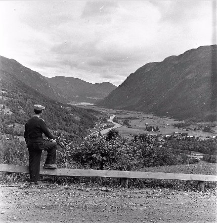 Photograph from 1950s of Flatdal