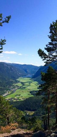 Flatdal, Norway: View from Bindingsnuten