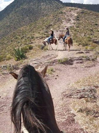 Real de Catorce, México: De regreso del Cerro del Quemado