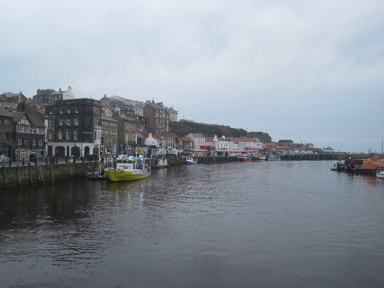 Whitby Harbour: View from the bridge