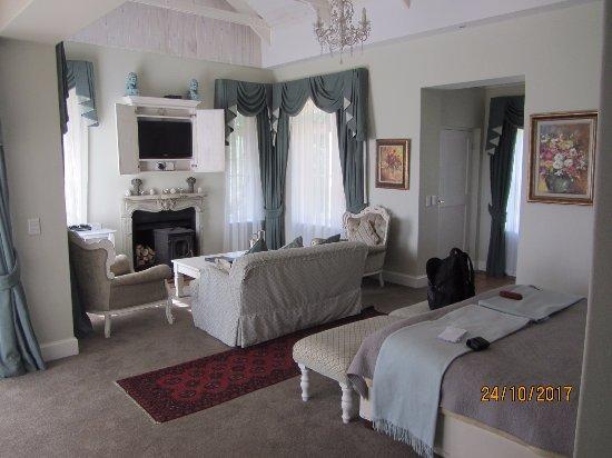 Fordoun Spa Hotel Restaurant: The palatial superior suite