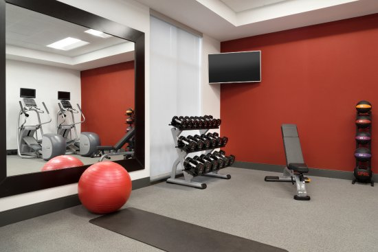 Southaven, Μισισιπής: Fitness Center Free Weights Area