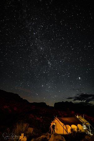 Virgin, Utah: Evening view...