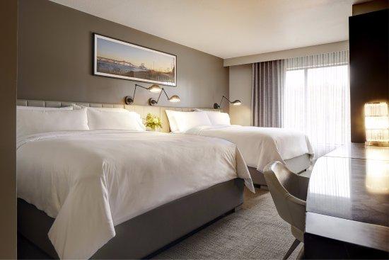 Florham Park, نيو جيرسي: Double King Guest Room