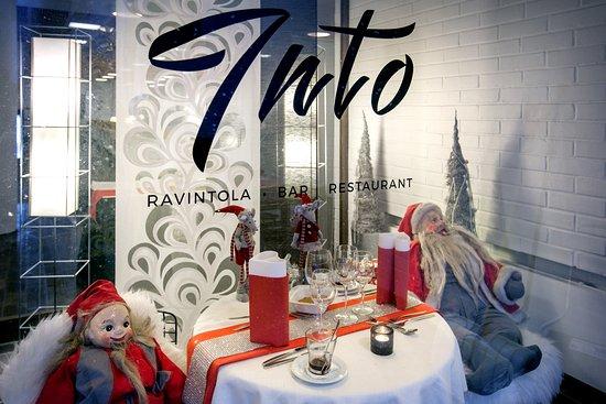 Tuusula, Suomi:  Christmas elves having a lunch break