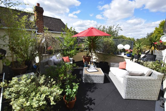 Great Dunmow, UK: Roof Terrace