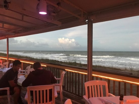 Jensen Beach, FL: View from our table