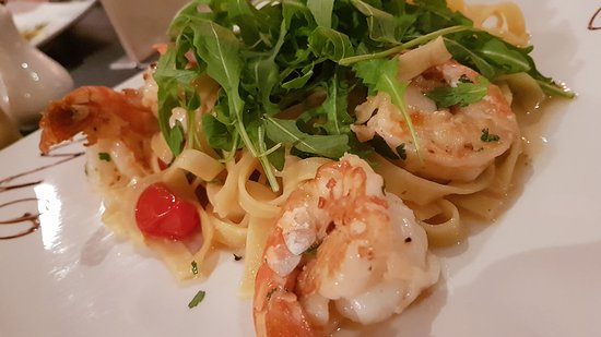 Rossendale, UK: Prawn Linguine