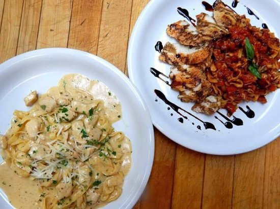 Dayton, NJ: Red or White - in pasta and in wine - both are delicious!