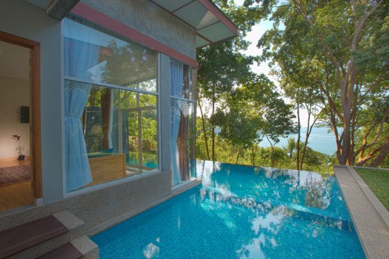 Langkawi District, Malaysia: View from the lanai, Villa Kemoja