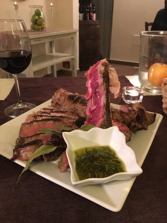 Castel Del Piano, Ιταλία: We had Tuscan beef which was amazing!