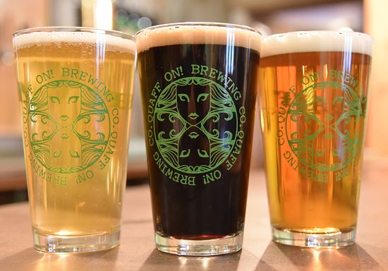Big Woods Village : Enjoy local craft ales made just down the road at Quaff ON! Brewing Co.
