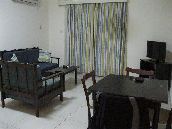 Kefalos Beach Tourist Village: Living area