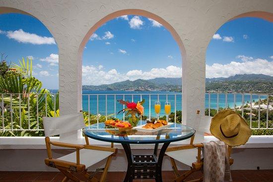 Balcony - Picture of Mount Cinnamon Resort & Beach Club, Grenada - Tripadvisor