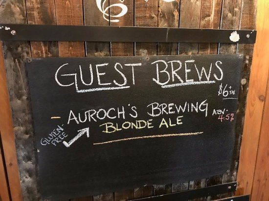 Wexford, بنسيلفانيا: Sometimes they feature guest brews from other local brewery's 