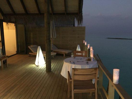 Lhaviyani Atoll: In Villa Dining