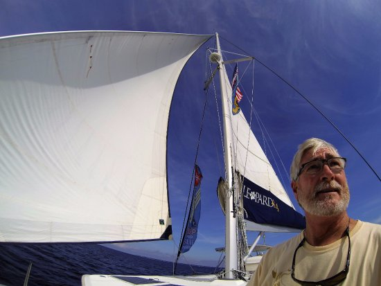Gulf Breeze, FL: Capt. Jack aboard the Yacht AURORA