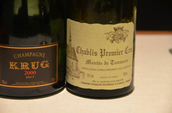 Restaurant Tim Raue: Krug and Raveneau