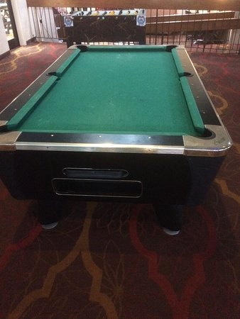 Clarion Inn: Pool Room