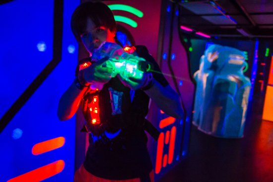 Lewis Center, OH: The Ultimate in multi-level Laser Tag!