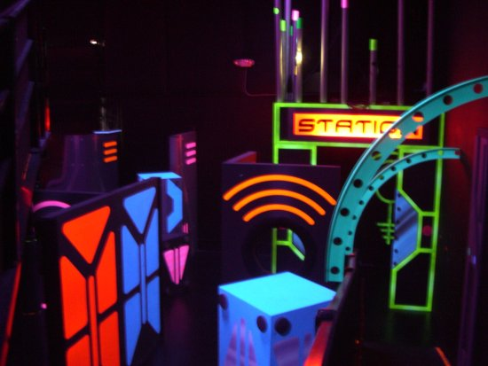 Lewis Center, OH: Multi-level laser tag for up to 42 players