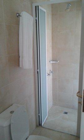 Terrazas del Calafate Hotel: Receptáculo de ducha aparte