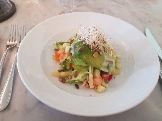 Villa Kallhagen Hotel: Vegetarisk förrätt