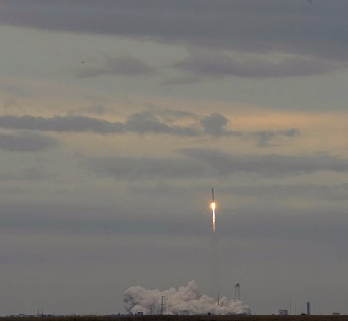 New Church, VA: The Antares rocket liftoff as seen from NASA, Wallop