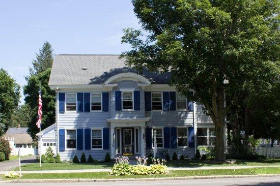 Norwich, Nova York: Splendor Inn Front Aspect from S Broad St