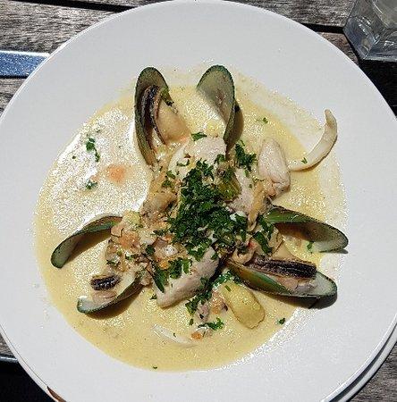 Devonport, Nueva Zelanda: Seafood Chowder
