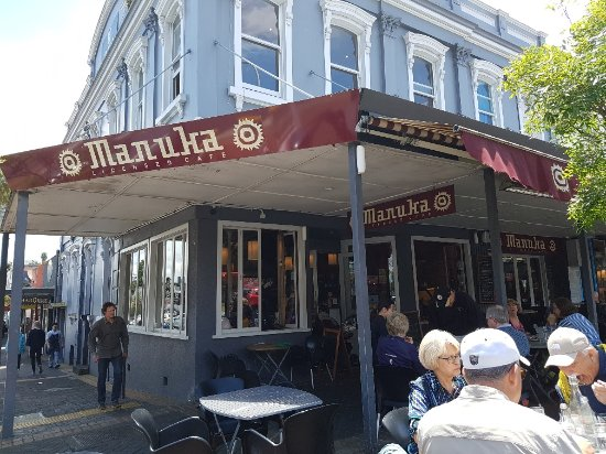 Exterior of Manuka restaurant