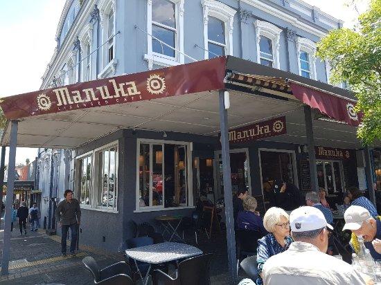 Devonport, Nueva Zelanda: Exterior of Manuka restaurant