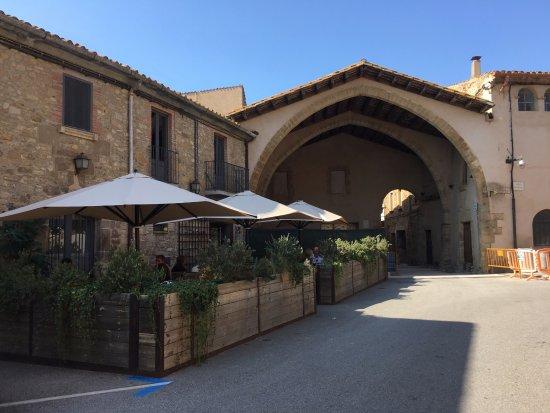 Ullastret, Spanje: Terraza