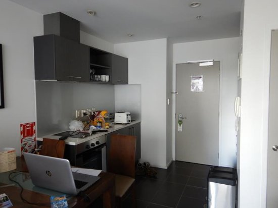 Barclay Suites Auckland : Kitchen