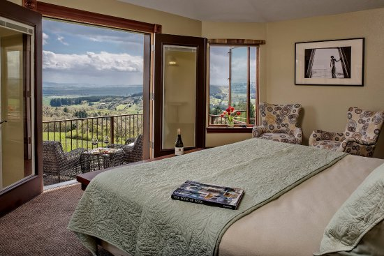 Youngberg Hill Vineyards & Inn: Martini Suite view