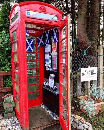 Strathcarron, UK: Kishorn Selfie Box