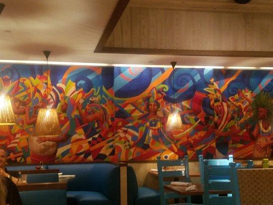 Bimini Road: wall mural
