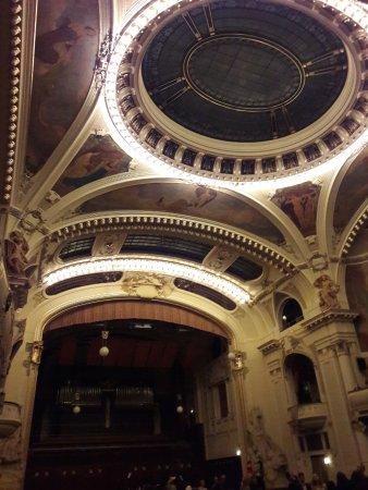 Obecní Dům: L'interieur de la salle de concert