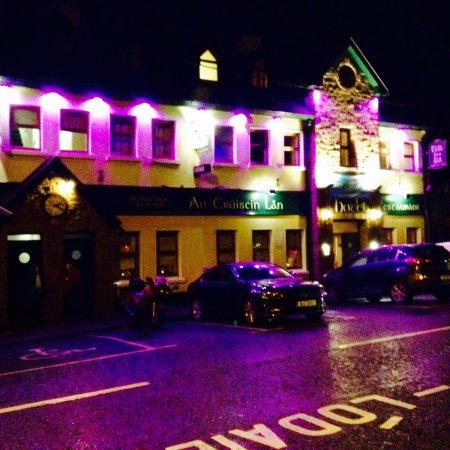 Spiddal, İrlanda: Night shot