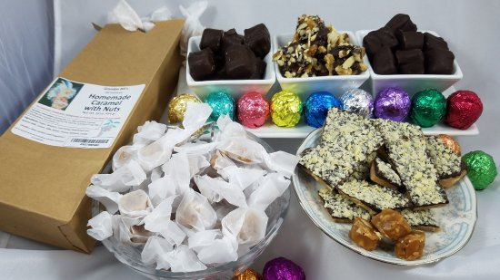 Pagosa Springs, CO: Some of our handmade candies