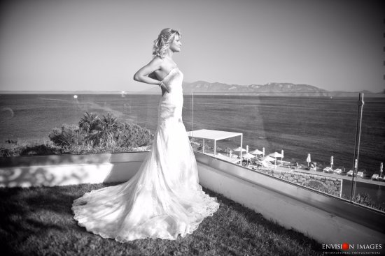 Dimitra Beach Resort Hotel: Fantastic view for wedding pictures :)