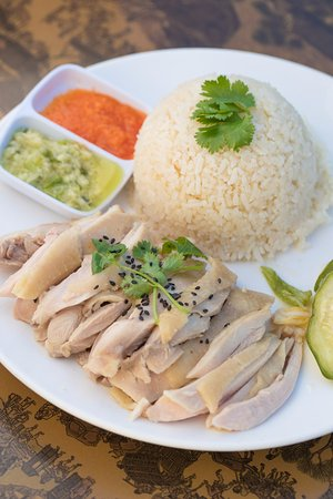 Rowland Heights, CA: Hainan Chicken Rice Dark meat