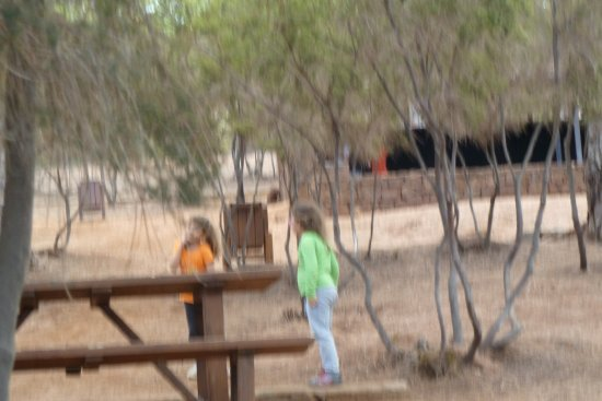 Park/picnic area in Puntagorda