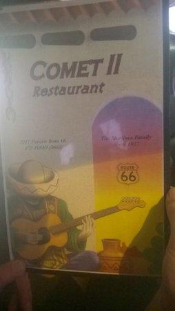 Santa Rosa, NM: COMET II