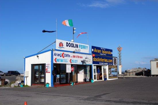 Doolin, أيرلندا: Doolin Pier